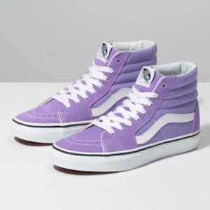Vans Sk8 Hi Women's Skate Shoe - Violet Tulip/True White
