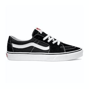 Vans Sk8 Low Skate Shoe - Black/True White