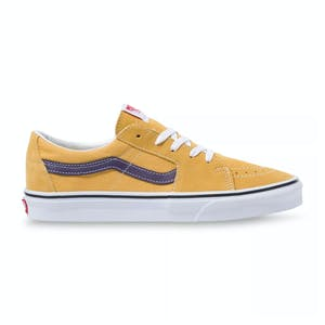 Vans Sk8 Low Skate Shoe - Honey Gold/Purple Velvet