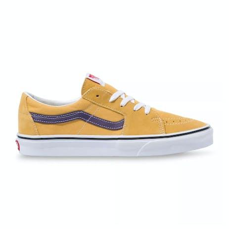 Vans Sk8 Low Skate Shoe - Honey Gold/Purple Velvet