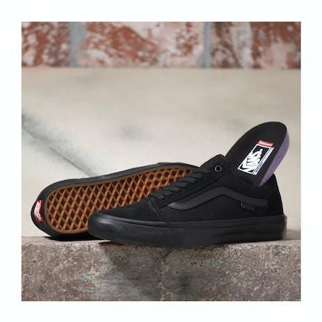 Vans Skate Old Skool Skate Shoe - Black/Black