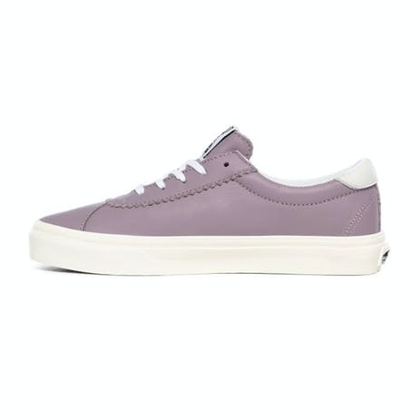 Vans Soft Leather Women's Sport Shoe - Nirvana / Snow White