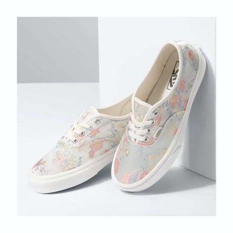 Vans Tapestry Authentic Skate Shoe - Marshmallow/Snow