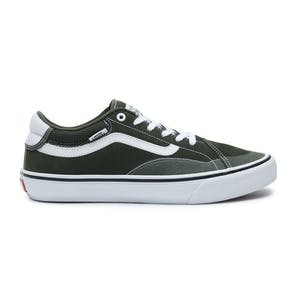 Vans TNT Advanced Prototype Skate Shoe - Forest/White