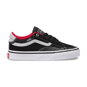 Vans TNT Advanced Prototype Youth Skate Shoe - Black/White/Red