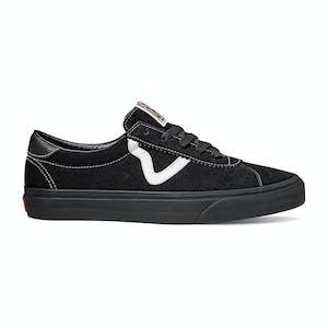 Vans Sport Skateboard Shoe - Black/Black