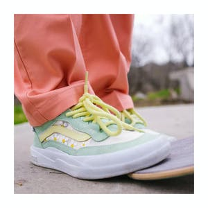 Vans Wayvee Brighton Skate Shoe - Pastel Green