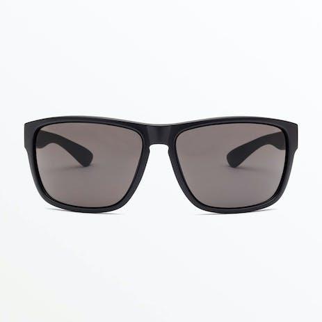 Volcom Baloney Sunglasses - Matte / Black Grey