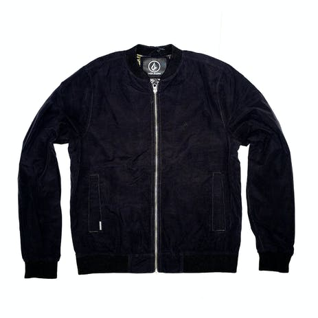 Volcom Burnward Bomber Jacket - Black