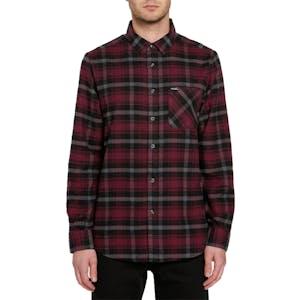 Volcom Caden Plaid Long-Sleeve Flannel Shirt - Port