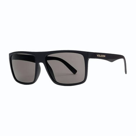 Volcom Franken Sunglasses - Matte Black / Grey