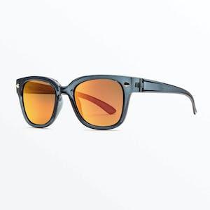 Volcom Freestyle Sunglasses - Gloss Tort / Heat Mirror