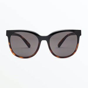 Volcom Garden Sunglasses - Gloss Darkside / Grey