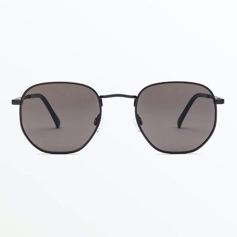 Volcom Happening Sunglasses - Matte Black / Grey