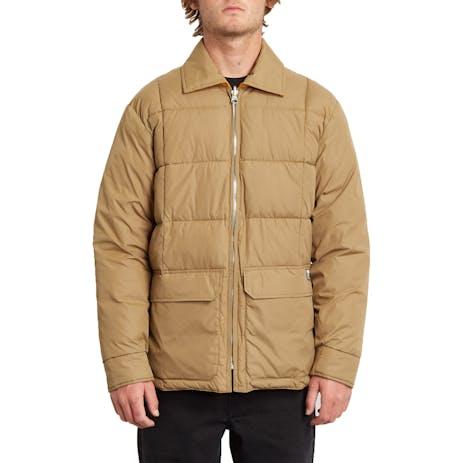 Volcom Hobro Reversible Jacket - Sanddune