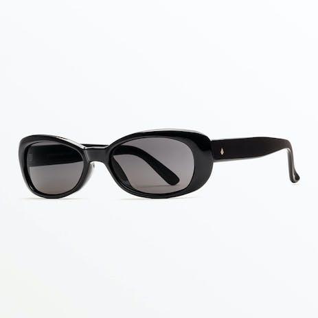 Volcom Jam Sunglasses - Gloss Black / Grey