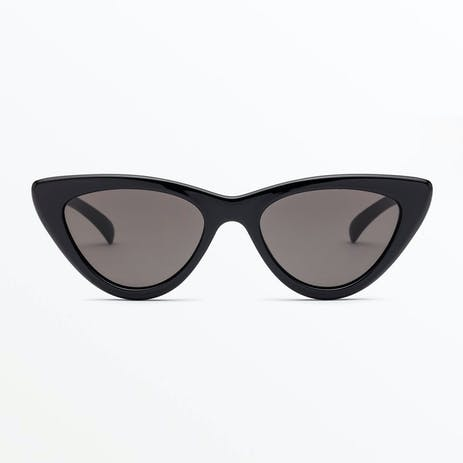 Volcom Knife Sunglasses - Gloss Black / Grey