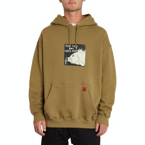 Volcom Loose Trucks Pullover Hoodie - Old Mill