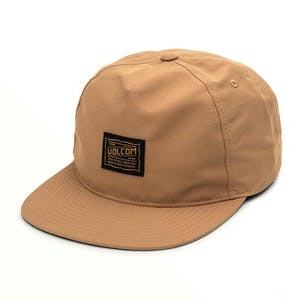 Volcom Road Test Hat - Dull Gold