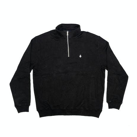 Volcom Serum Quarter Zip Pullover - Black