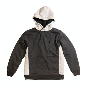 Volcom Single Stone Lined Hoodie - Sulphur Black