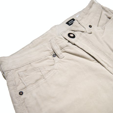 Volcom Solver 5-Pocket Cord Pants - Stone
