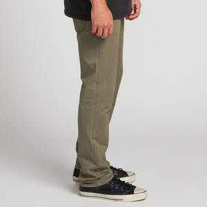 Volcom Solver Lite 5-Pocket Pant - Army Green Combo