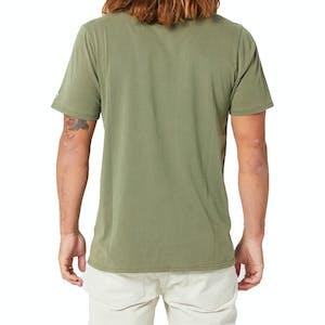 Volcom Wash Short Sleeve T-Shirt - Army Green