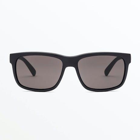 Volcom Wig Sunglasses - Matte Black / Grey