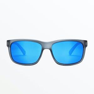 Volcom Wig Sunglasses - Matte Smoke / Blue Mirror