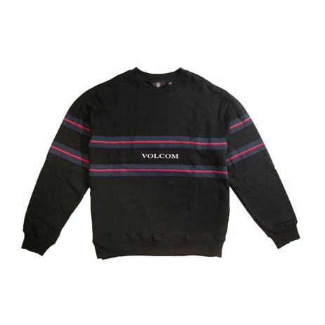 Volcom Zero Division Crew Fleece - Black