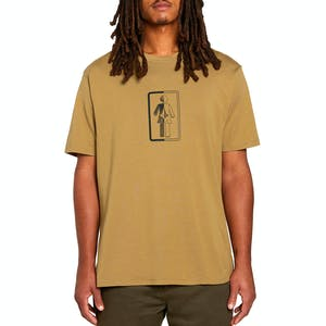 Volcom x Girl Box It Up T-Shirt - Sanddune