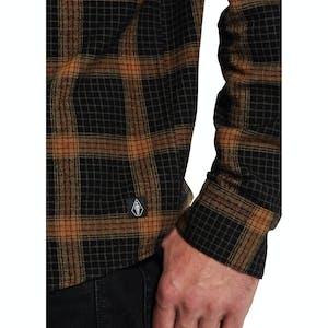 Volcom x Girl Long Sleeve Flannel Shirt - Black