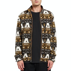 Volcom x Girl Polar Zip Fleece - Print