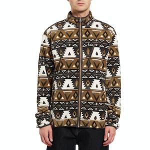 Volcom x Girl Polar Zip Fleece - Print
