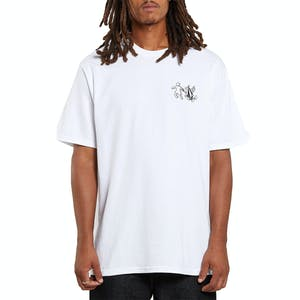 Volcom x Girl Stonely T-Shirt - White