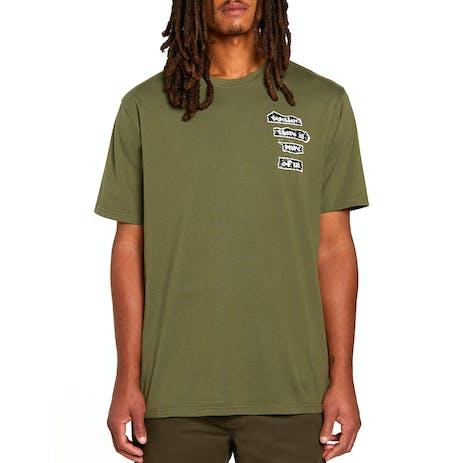 Volcom x Girl More Of Us T-Shirt - Military