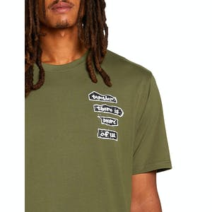 Volcom x Girl More Of Us T-Shirt - Military