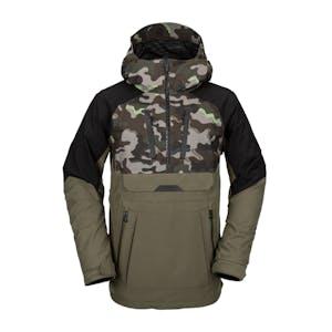 Volcom Brighton Pullover Snowboard Jacket 2021 - Army