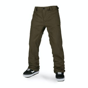 Volcom Freakin' Snow Chino Snowboard Pant 2021 - Black Military