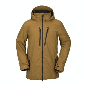 Volcom Guch Stetch GORE-TEX Snowboard Jacket 2021 - Burnt Khaki