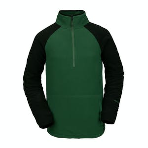 Volcom Polartec Half-Zip Fleece 2021 - Forest Green