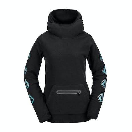 Volcom Polartec Mid Women's Hoodie 2021 - Black