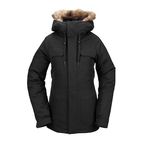 Volcom Shadow Insulated Women's Snowboard Jacket 2021 - Black