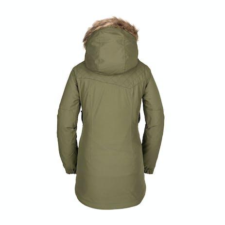 Volcom Shadow Insulated Women's Snowboard Jacket 2021 - Military