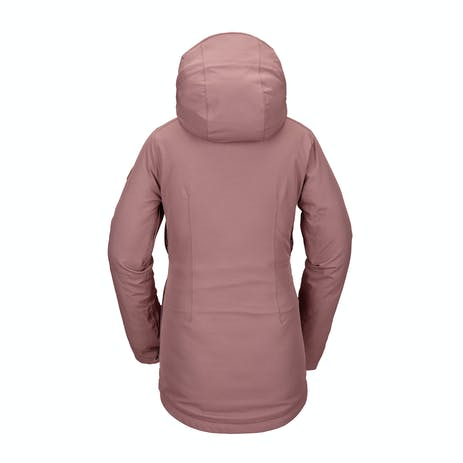 Volcom Shelter 3D Stretch Women's Snowboard Jacket 2021 - Rose Wood