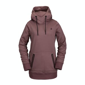 Volcom Spring Shred Women's Riding Hoodie 2021 - Rose Wood