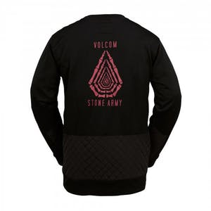 Volcom Kabigtime Fleece Crew 2017 - Black