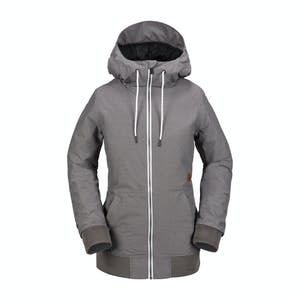 Volcom Women's Alesk Insulated Jacket 2018 - Charcoal