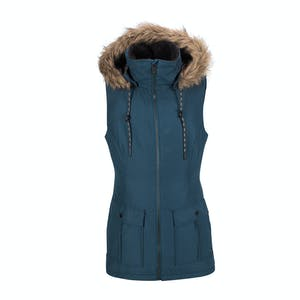 Volcom Women's Longhorn Insulated Vest 2018 - Vintage Navy